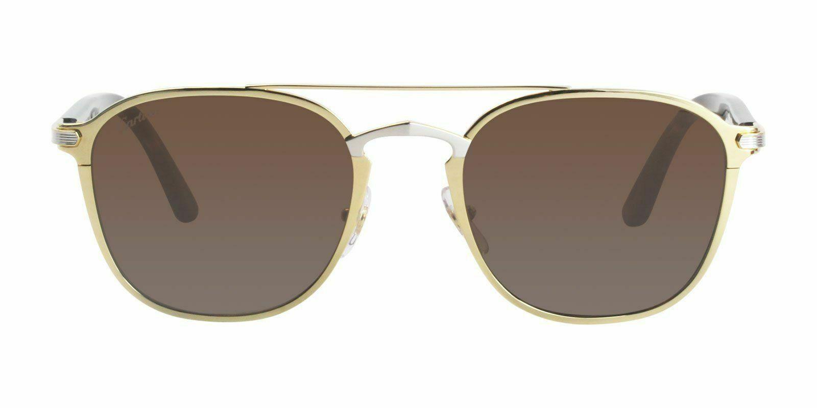 e37243f5bd3 Cartier Platinum Gold Sunglasses Signature CT0012S 002 France 54mm ...