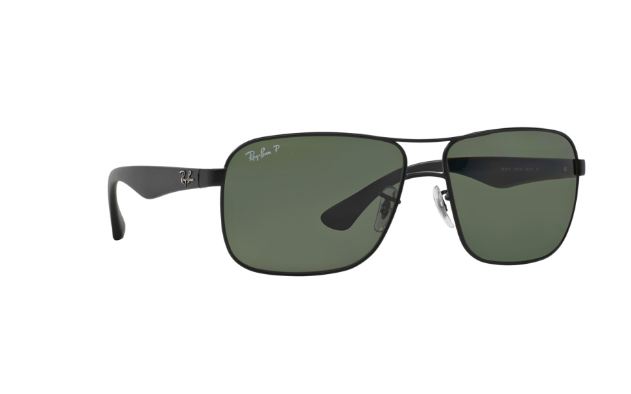 0a7380dc0f Ray Ban RB3516 006 9A 59 Black Frame Green Classic G-15 59 mm Lens ...